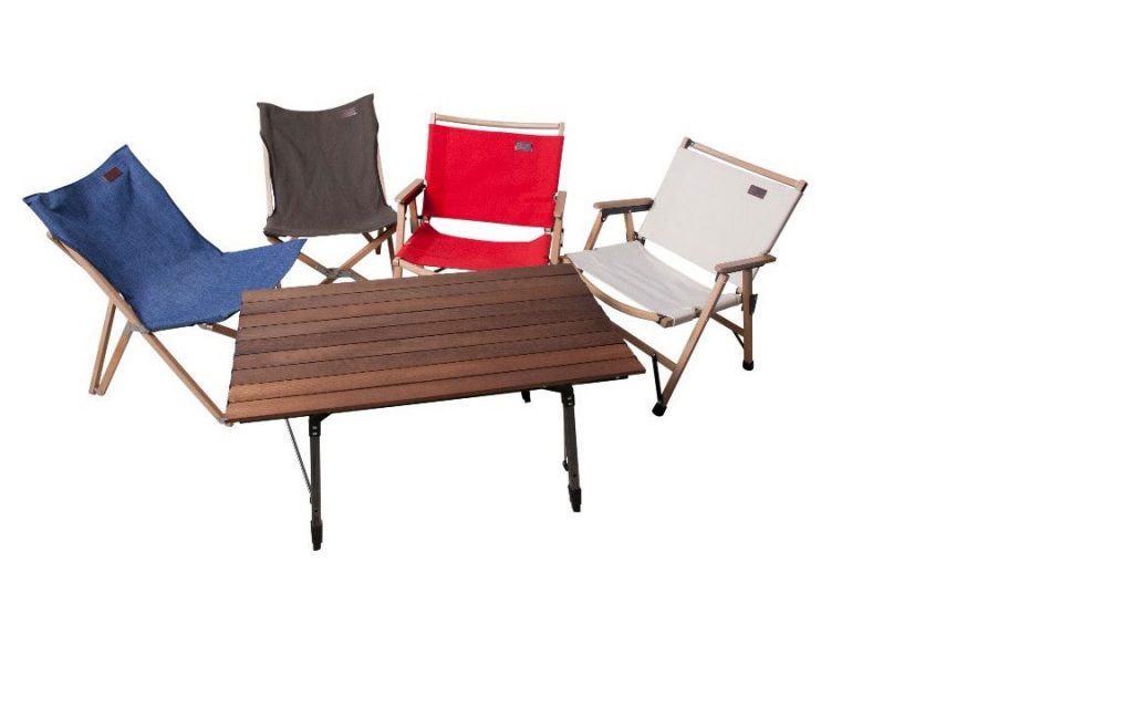 Beech Wood range with adjustable table